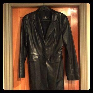 Last chance! Black leather jacket